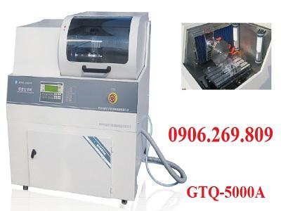 Máy cắt mẫu bằng đĩa cắt kim cương, cắt kim loại cứng (sau nhiệt luyện) GTQ-5000A
