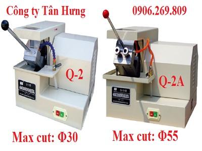 Máy cắt  mẫu kim loại nhỏ Q-2 Hoặc Q-2A (Cắt mẫu nhỏ, vật liệu cứng, loại để  bàn, giá rẻ)