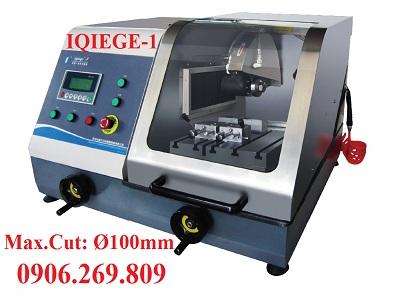 Máy cắt  mẫu kim loại tự động IQIEGE-1 (Max.Cut: Ø100mm - Loại để bàn)