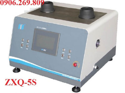 Máy đúc ép mẫu kim loại tự động ZXQ-5S (02 mẫu 1 lần ép)