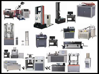 Máy kiểm tra độ bền kéo nén (Sợi thép, thanh thép, vải, cao su); Máy thử độ bền kéo nén vạn năng (thủy lực, điện, hiển thị LCD, kết nối máy tính, máy in)