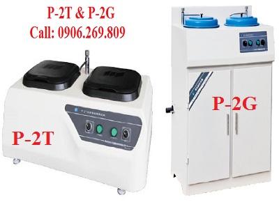 Máy mài bóng mẫu kim loại P-2T. P-2G; Máy mài bóng mẫu thí nghiệm P-2T. P-2G