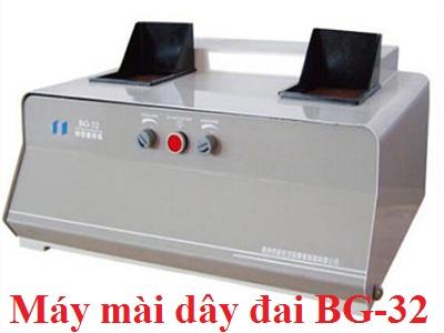 Máy mài đai BG-32; Máy mài dây đai BG-32 (Loại tốc độ cố định, dùng phố biến nhất)