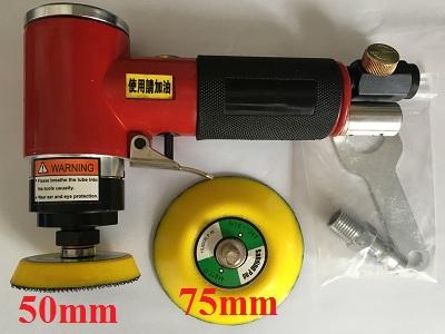 Máy chà nhám hơi mini SM-02 (đĩa mài 50mm và 75mm) ; Made in Taiwan