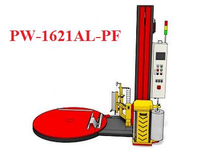 Máy quấn màng Pallet tự động PW-1621AL-PF (Tự động cấp màng, Cắt màng)