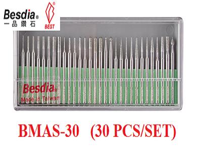 Bộ đầu mài kim cương BMAS-30 (BESDIA); Bộ cán mài kim cương BMAS-30
