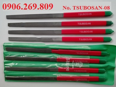 Bộ dũa kim loại phẳng TSUBOSAN-08 (TSUBOSAN -Nhật)