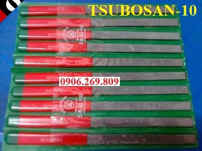 Bộ dũa kim loại TSUBOSAN-10 (Phẳng, bán nguyệt, tam giác) (TSUBOSAN -Nhật)